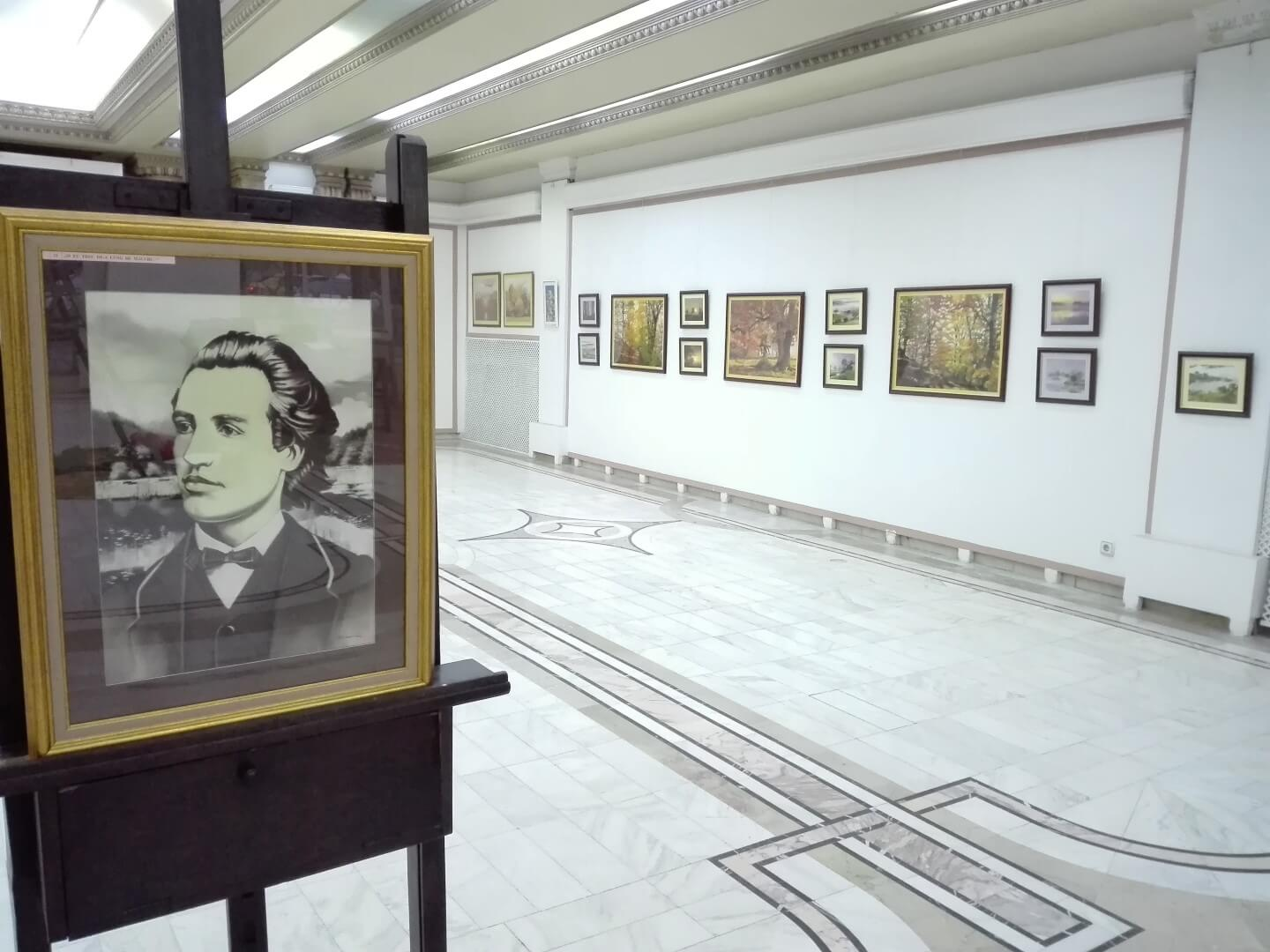 expozitie de pictura bucuresti 2018 pictor adrian stoenica tablouri pictate manual