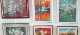 Expozitie de Pictura Brasov 2021 - Tablouri Pictate Manual - pictor Adrian Stoenica